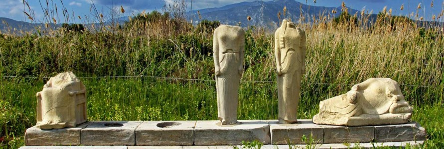 Archaeological Sites of Samos island in Greece