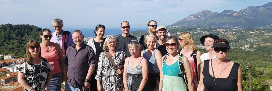 writer's workshop in Samos